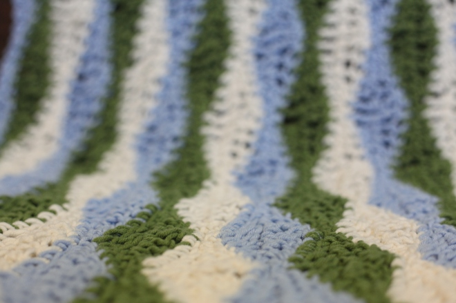 Wave Crochet Baby Blanket