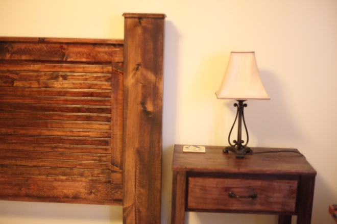Bed and Headboard