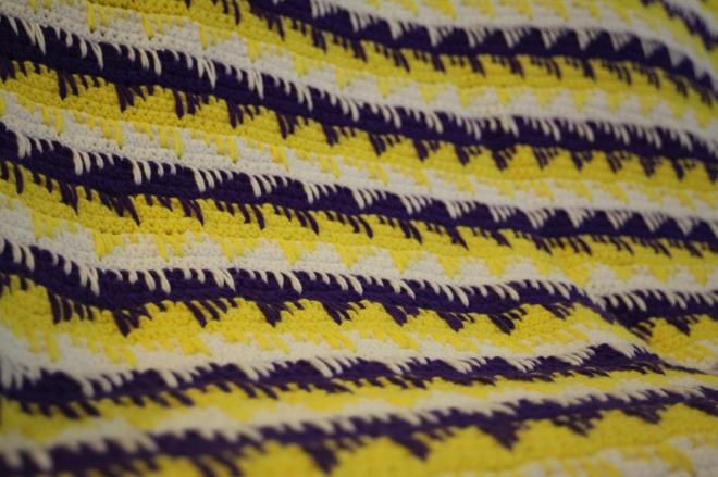 Geometrical Crochet Blanket